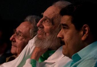 Fidel Castro pojawił się publicznie