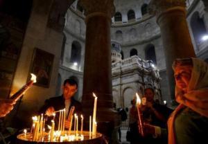 Grób Chrystusa znów dostępny dla pielgrzymów