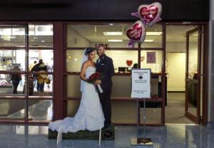 Las Vegas - weź ślub choćby na lotnisku