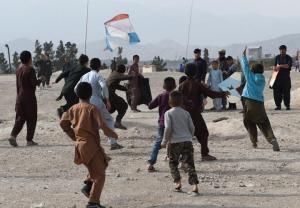 Bitwa nad Kabulem - na latawce