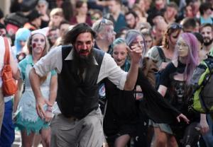Francuscy zombie wyszli na ulice Strasburga