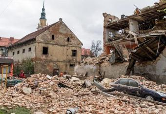 Caritas z pomocą ofiarom katastrofy