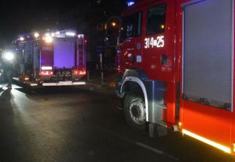 Pięć osób zginęło pod Braniewem. Ich auto spłonęło