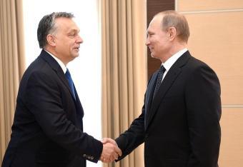 Putin znowu jedzie do Orbana