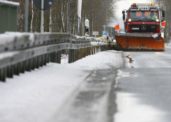 Niemcy przygotowuje się na silne śnieżyce; fot. rp.pl
