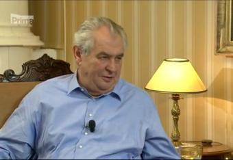 Zeman: znieść sankcje wobec Rosji