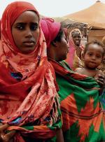 Obóz dla somalijskich uchodźców w Kharaz, 150 km od Adenu (fot: Khaled Fazaa)