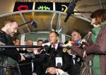 Spotkanie premiera Donalda Tuska ze stoczniowcami