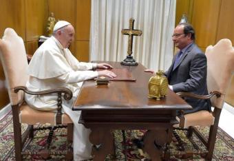 Hollande uwierzył w papieża