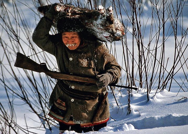 Foto J. Pałkiewicza Suan-Kon, myśliwy z tajgi, źródło: Rzeczpospolita