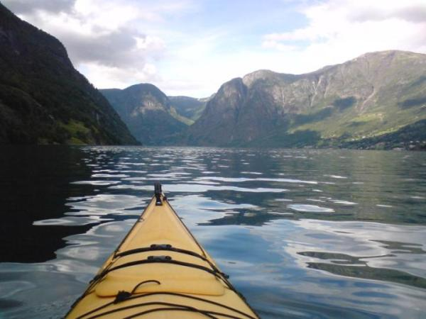 spływ kajakowy Norwegia