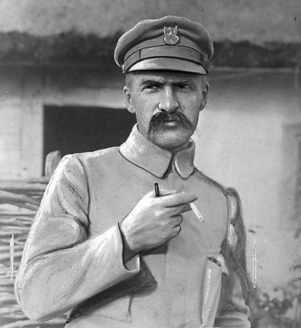 Brygadier Józef Piłsudski w okresie walk nad Styrem