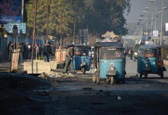 Afganistan: krwawy zamach samobójczy