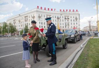 Białoruś: szef MSW w mundurze NKWD