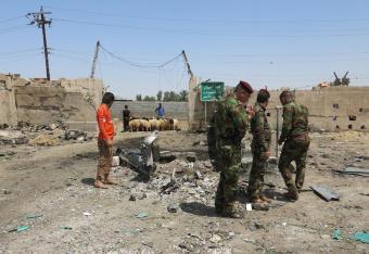 Daesh przyznaje się do zamachu na bazarze w Bagdadzie