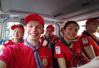 Harcerze z Polski uratowali na ŚDM dziewczynę z Salwadoru