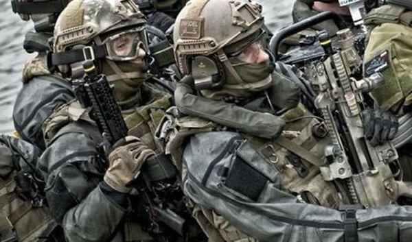Polscy komandosi w szpicy