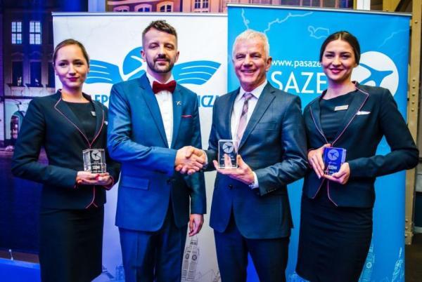 Nagrody Ceesar dla LOT-u, Lufthansy i Wizz Aira