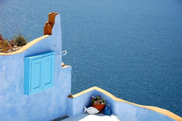 Lesbos bez turystów, choć w Grecji jest ich tłum
