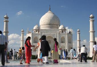 Owady niszczą Tadź Mahal