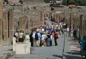 Nowa dzielnica Pompejów dla turystów