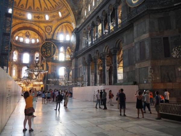 Erdogan: Hagia Sofia znów może być meczetem