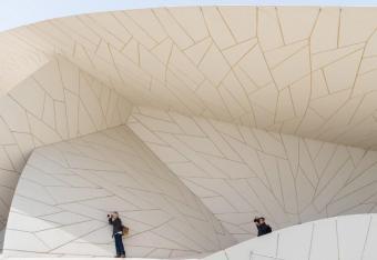 Katar - Muzeum Narodowe jak róża pustyni