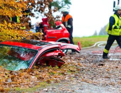 Tragicznych wypadków przybywa jesienią