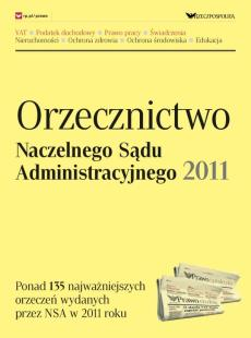Orzecznictwo Naczelnego Sądu Administracyjnego