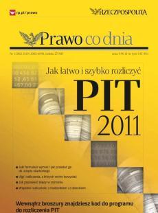 PIT 2011 – jak łatwo i szybko rozliczyć się z fiskusem