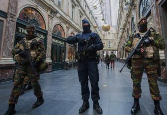 Bruksela pełna strachu