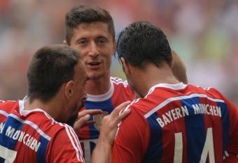 Bayern, Borussia und Lewy