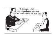 Andrzej Krauze: Skazuje was na pogrożenie palcem. W zawieszeniu na dwa lata