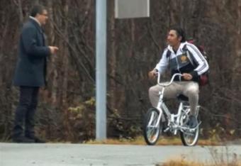 Policja zbiera rowery dla uchodźców