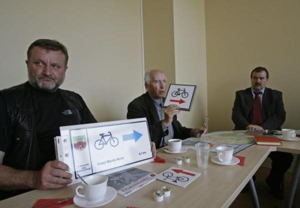 Samorządowcy Łomianek spotkali się ws. tras rowerowych