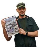Zwycięski komiks i jego autor Rafał Bąkowicz
