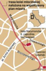 Na terenie Żoliborza po nasypie linii młocińskiej nie ostał się nawet ślad. Natomiast zachodnia nitka ulicy Marymonckiej, od Podleśnej ku północy, to nic innego jak dawna trasa kolei. I ostatni ślad – pod koniec lat 40. widziano w rejonie Młocin samotny semafor.