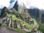 Widok na pozostałości Machu Picchu.
