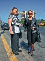 Małgorzata Tokarska z siostrą Jolantą Wiśniewską chcą  do Warszawy przyciągnąć niepełnosprawnych turystów