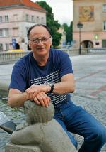Wiesław Paradziński na rynku