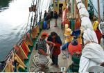 Uczestnicy rejsu od wczoraj poznawali dźwięki i zapachy statku