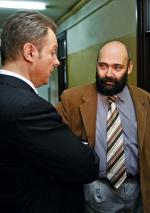 Przed salą rozpraw – Jarosław Kochaniak i Andrzej Golimont