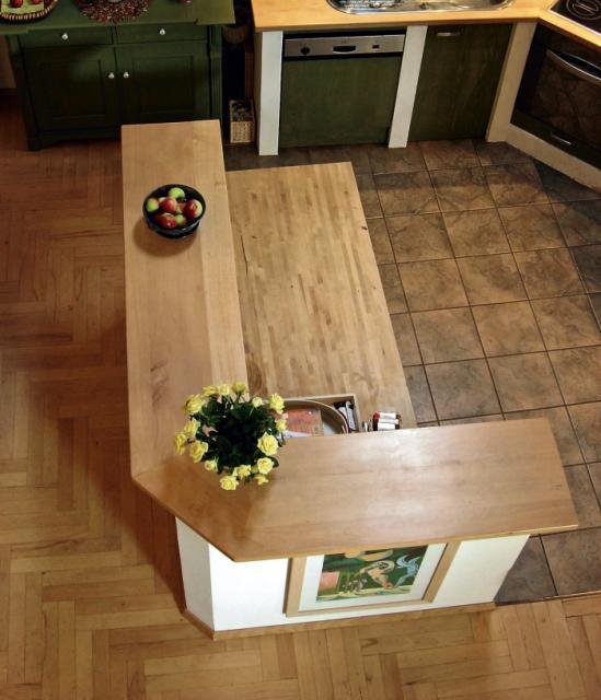 Otwarta Kuchnia Na Salon I Jadalni Z Dekoracyjnymi   -> Jasna Kuchnia Otwarta Na Salon