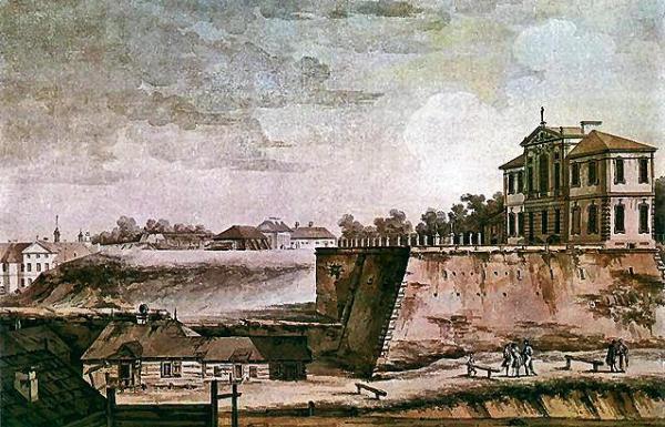 *Był czas, gdy Zamek Ostrogskich pełnił także rolę ratusza jurydyki Tamka-Kałęczyn