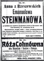 """W 1918 roku nekrologi pełne były """"krótkich i ciężkich cierpnień"""" – to synonim śmierci spowodowanej pogrypowymi powikłaniami"""