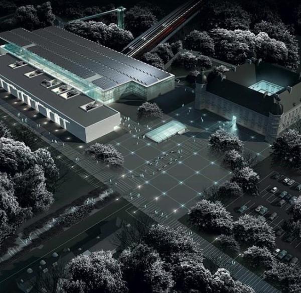 Lokalizacja MHP na platformie nad Trasą Łazienkowską czyni budowę obiektu niezwykle skomplikowaną technicznie