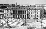 *Tu był początek Krochmalnej, ale w 1970 roku obrócono pałac Lubomirskich i ten rejon miasta ostatecznie zmienił wygląd
