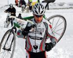 Na Stegnach najwięcej problemów kolarze mieli ze śniegiem