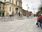 Tak wyglądała koncepcja miejskich rowerów według firmy JC Decaux