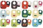 Skórzane śliniaczki Mally Bibs to piękne wzornictwo i szeroki wybór aplikacji i kolorów.